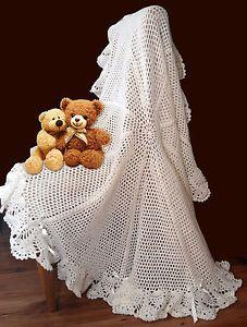 free baby blanket knitting patterns - Page 1