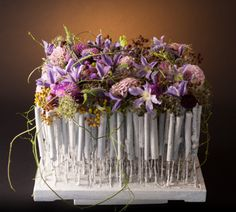 Floral recipe: White wood