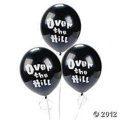 """Over The Hill"" Balloons"