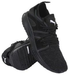 Puma Men's Tsugi Blaze Evoknit Sneaker, Black-dark Shadow, 8