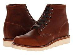 "Chippewa   6"" Plain Toe Wedge Boots #chippewa #boots"
