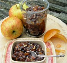 "Traditional British Mincemeat for Christmas Mince Pies! from Food.com: A subtle blend of sweet and savoury with just a hint of alcohol which echoes the ancient practice of adding spice and fruit to meat dishes. I also have a ""Boozy Fat Free"" mincemeat recipe posted,Traditional British Boozy Mincemeat - Fat Free, but if you wish to make a mincemeat recipe with little or no alcohol, this is a wonderful traditional recipe for long lasting mincemeat. Mincemeat was always made at home before the…"