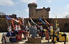 Le Puy du Fou || Medieval Tournament Spectacle