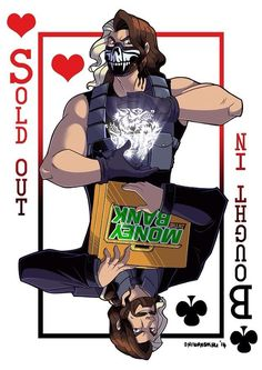 The two sides of @WWERollins . Traitor or Revolutionary? Or both? #wwefanart pic.twitter.com/X3MTHs7iQc