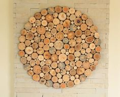 Instead of picture or photography you can make this kind of decoration for your wall.  Wood is simple for processing so it is a common option of artists. Except all that, it gives home warmth and connection with nature.