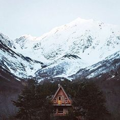 My cabin in the woods...>>> I constantly dream of going to a place like this. Am I alone?
