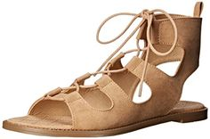 Chinese Laundry Fashion Bug Womens Guess Who Micro S Gladiator Sandal www.fashionbug.us #PlusSize #FashionBug