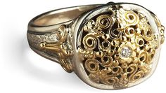Konstantino Ornate Diamond Ring on shopstyle.com