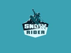 SnowRider snowboard logo by Daniel Bodea #Design Popular #Dribbble #shots