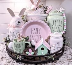 Easter Projects, Easter Crafts, Holiday Crafts, Easter Decor, Easter Ideas, Holiday Decor, Hoppy Easter, Easter Bunny, Easter Eggs