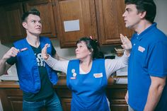 Erik Moody, Bess Welden and Rob Cameron in A BRIGHT NEW BOISE -- November 13 - 24, 2013 -- www.dramaticrep.org