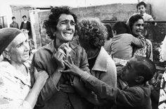 haziveram, Cyprus, March 1964  This photo of a Turkish Cypriot woman who has just learnt of the death of her husband, killed in fighting during the civil war, won the 1964 World Press Photo of the Year in the single image category. Photograph: Don McCullin for the Observer
