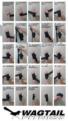 Short guide which outlines a fast and secure way to wrap the hands for boxing --- Good to know for when I start wrapping in kickboxing