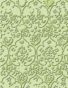 Cuttlebug® A2 Textile Texture Emboss Folder