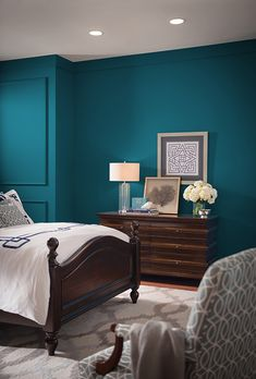 Meet Sherwin-Williams' Hottest Color of 2018 Say hello to Oceanside, a dreamy blue paint color from Sherwin-Williams that's making waves in interior design. We'll explain what makes this stunning shade so special, plus show you how to bring Oceanside into your own home.