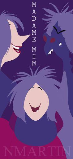 Madam Mim (The Sword in the Stone) by NMartin95.deviantart.com on @deviantART