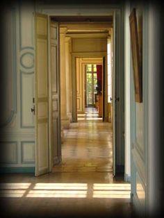 enfilade of 6 rooms (du Salon d'angle au Grand Salon) Chateau de Brou