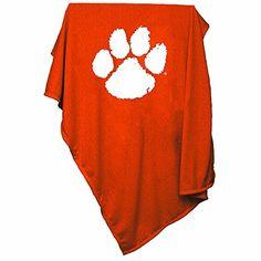 NCAA Clemson Tigers Sweatshirt Blanket Logo Inc. http://www.amazon.com/dp/B000K8T14I/ref=cm_sw_r_pi_dp_S-Oswb1MZDXND