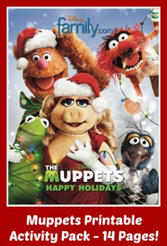 FREE Printable Muppets Activity Pack