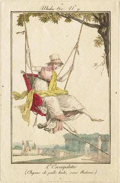 Modes et Manières du Jour no. 9 by Debucourt