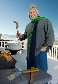 Cold Weather Grilling Tips and Recipes! Since Spring seems to be taking it's time getting here, make the best of the cold weather and your deck with these cold weather grilling tips. Grilling Tips, Grilling Recipes, Bbq Pitmasters, Homemade Smoker, Grilled Steak Recipes, Smoker Recipes, Smoking Meat, Quick Easy Meals, Cold Weather