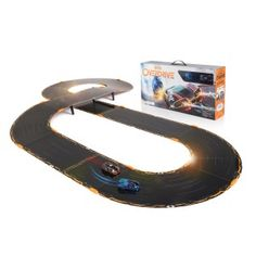 Anki OVERDRIVE Starter Kit Cars run for about 20 to 25 minutes then need a charge. Charging time is about 8 minutes or less. The starter kit comes with a four car charger. During the race, you always know your position as it is written Stem Skills, Top Toys, 9 Year Olds, Christmas Toys, Christmas Presents, Holiday Gifts, First Car, Old Boys, Building Toys