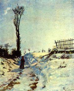 Armand Guillaumin - Effet de neige