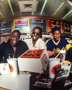 Another Badboy BIG Mack outtake - Biggie Puffy and Craig Mack - NYC 1993 This wide angle (fisheye) image was taken for the Badboy ad in Billboard magazine in The theme was B.G and (Craig) MACK together to make BIG MACK ! by chimodu Bad Boy Records, Paper Magazine, Serato Dj, Hip Hop Classics, Puff Daddy, Billboard Magazine, 90s Hip Hop, Hip Hop Rap, Biggie Smalls