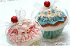 stoffen cupcakes