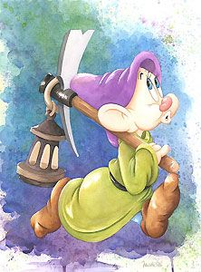 Michelle St. Laurent - Snow White and the Seven Dwarfs - Dopey - Marching Home - Original