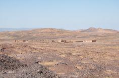 Photo : Village dans le désert