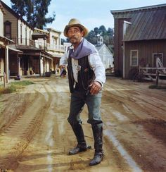 Gunsmoke, TV's longest running prime time, live action dramatic series for decades until tying with Law and Order, starred James Arness as Marshal Matt Dillon, Dennis Weaver as Dillon's dependable… Old Movies, Vintage Movies, Sheriff, Ken Curtis, Matt Dillon, Miss Kitty, Tv Westerns, Western Movies, Western Film