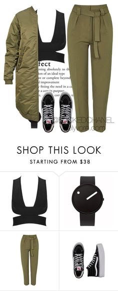 """""""★shalom★ #Bewhy"""" by fuckedchanel ❤ liked on Polyvore featuring Rosendahl, Topshop, Vans and 6397"""