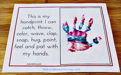 All About Me Activity Theme for Preschool & Kindergarten - Natural Beach Living - An Absolutely Adorable All About Me Activity, Family Keepsakes, Free Printables, Handprints, Footpr - All About Me Preschool Theme Activities, Preschool Lessons, Fun Activities, Preschool Ideas, Preschool Learning, Free Preschool, Preschool Science, Activity Ideas, Craft Ideas