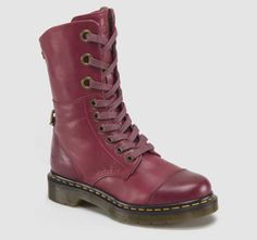 Martens Aimilie in Cherry Red Darkened Mirage ec66e5a9d3