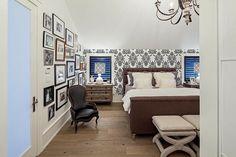Chambre à la décoration moderne et tendance