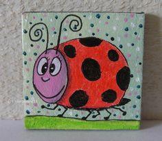 Persönlicher Glückskäfer Coasters, Collage, Ebay, Magnets, Insects, Coaster, Collage Art, Collages, Coaster Set