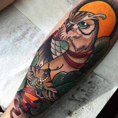 Neo traditional tattoo by willemxsm willem janssen