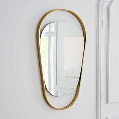 Brass Orbit Wall Mirror