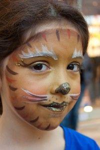 Leeuw met glitters