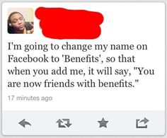Funny Quote - Facebook Name Change