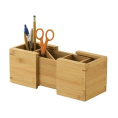 Expandable Pen/Pencil Holder - Sustainably Harvested, LIBPH1152 :  Keep the desktop tidy and the writing tools handy with this Expandable Pen/Pencil Holder - Sustainably Harvested of organizing tools for the home and office. A smart rectangular design with smooth sides and clean edges, the piece features a compact footprint that expands broadly for times when a project calls for more tools. Along the way, the piece's bamboo materials are both harder than maple and harvested from a…