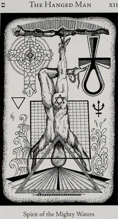 HE- XII - The Hanged Man Find out what The Hanged Man means for you: www.tarotbyemail.com