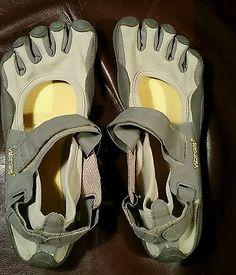 Vibram Men's M46 Five Fingers Gray  Barefoot Running Shoes Size EU 46 US 12