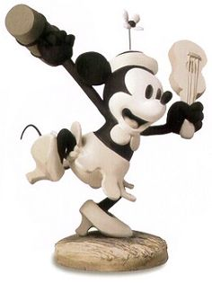"""Steamboat Willie - Minnie Mouse - """"Minnie's Debut"""" Charter Edition Retired 12/07 $150 Non-Charter Edition Suspended 12/09 $150"""
