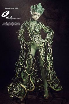 We are happy to welcome another amazing new Face at the +World Bodypainting Festival 2014 - Irina Shmeleva from Russia