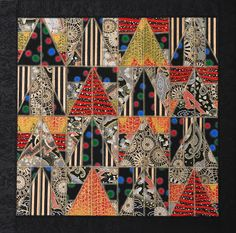 Paper Art Quilts by Mary Hambly