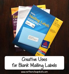 Creative Uses for Blank Mailing Labels