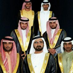 Hamdan, Mohammed, Rashid, Ahmed, Maktoum, Majid, Mansour