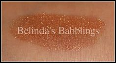 Mica Beauty Cosmetics Shimmer Powder in Bronze Swatch